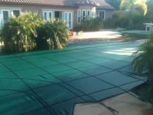 America made pool cover installed in the city of San Marcos