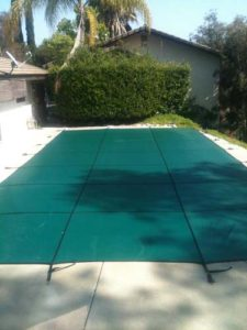 Safety Pool Covers come in green